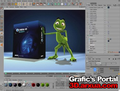 MAXON CINEMA 4D Studio Bundle v10.111 Multilanguage