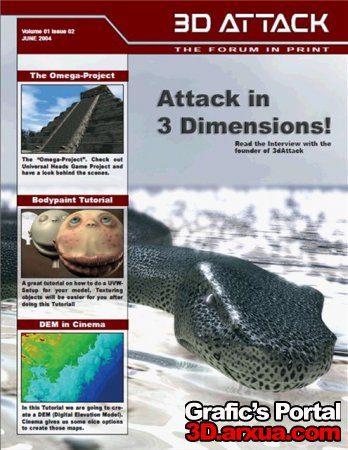 3D Attack Volume 01 Issue 02 JUNE 2004