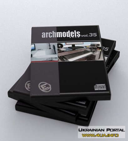 Evermotion Archmodels vol.34 & 35