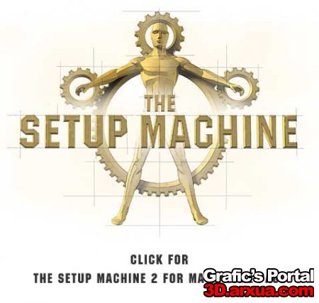 ANZOVIN THE SETUP MACHINE v2.08 for Maya 8.5 32/64bit