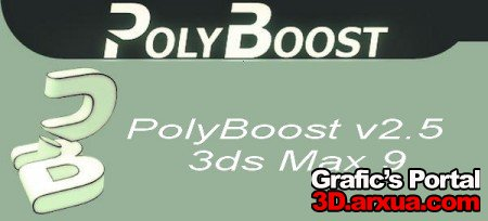 PolyBoost v2.5 - 3ds Max 9