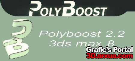 Polyboost 2.2 - 3ds max 8