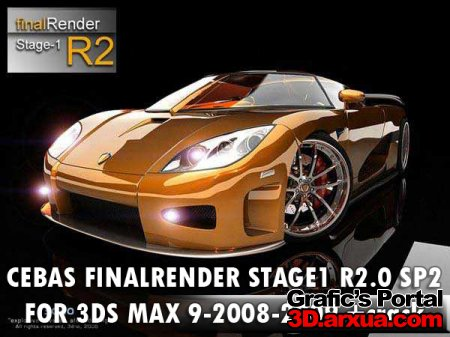 CEBAS FINALRENDER STAGE1 R2.0 SP2 FOR 3DS MAX 9-2008-2009 +crack