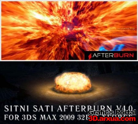 AFTERBURN V4.0 FOR 3DS MAX 2009 32+crack