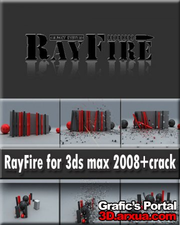 RayFire for 3ds max 2008+crack