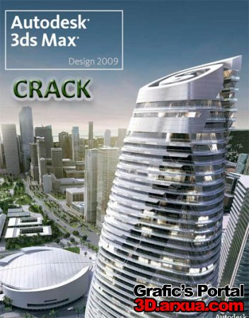 crack for 3ds max 2009 & 2009 Design!